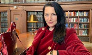 Info Shqip: Arijeta Spahiu: Shqiptarët janë pasardhës të maqedonasve