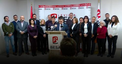 Info Shqip: Lëvizja BESA kërkon kthimin e mandateve të deputetëve të Gashit
