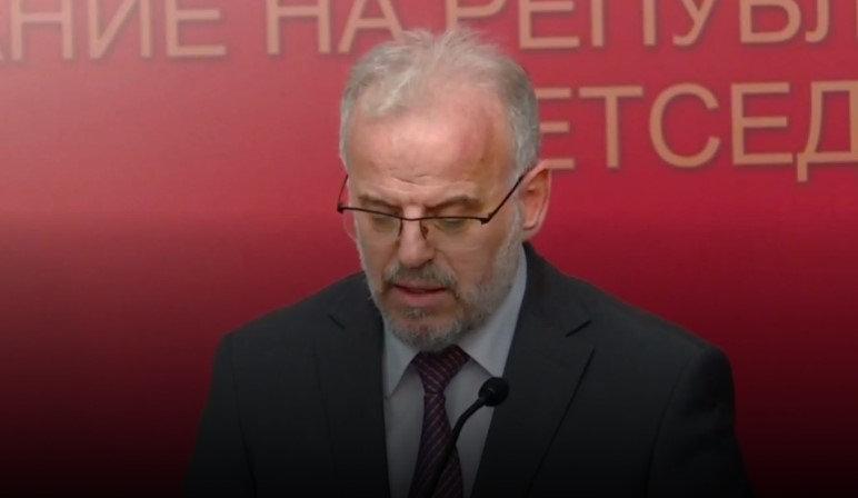 Talat Xhaferi pranon propozim   vendimin e VMRO së