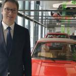 """Info Shqip: Vuçiç viziton """"Volkswagenin"""", pritet një investim prej 1.4 miliardë euro në Serbi"""