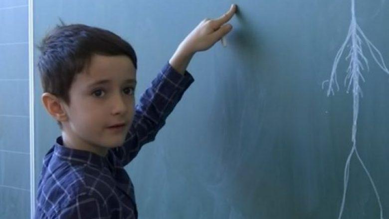 Njihuni me 8 vjeçarin shqiptar i cili harton teste për mësimdhënësit