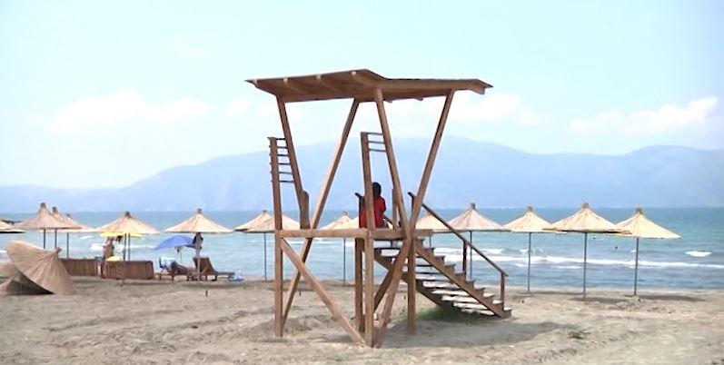 Temperaturat e larta  nis plazhi në Shqipëri