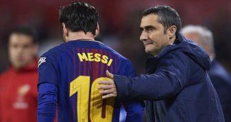 Info Shqip: Lojtarët e Barcelonës e humbin besimin në trajnerin Ernesto Valverde