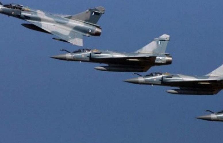 Avionë luftarakë grekë shfaqen në qiellin e Maqedonisë