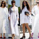 Info Shqip: E bardha, ngjyra dominuese e verës: Si ta vishni në mënyrën më elegante nga paraditja deri në mbrëmje