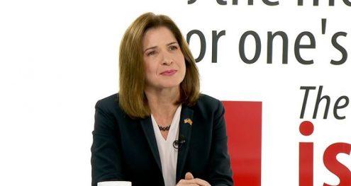 Info Shqip: Ambasadorja amerikane në Shkup: Jo kthim prapa, koha për të ecur përpara