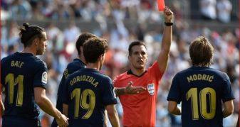Info Shqip: Çka thotë rregulli i ri në futboll, për të cilin Modric u ndëshkua me karton të kuq