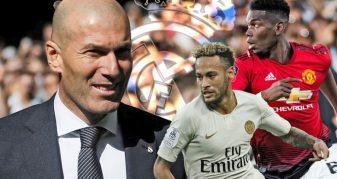 Info Shqip: Zidane flet përsëri për Pogban dhe Neymarin