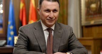 """Info Shqip: """"Shuplakat"""", Gruevski shpallet fajtor dhe dënohet me një vjet e 6 muaj burg"""