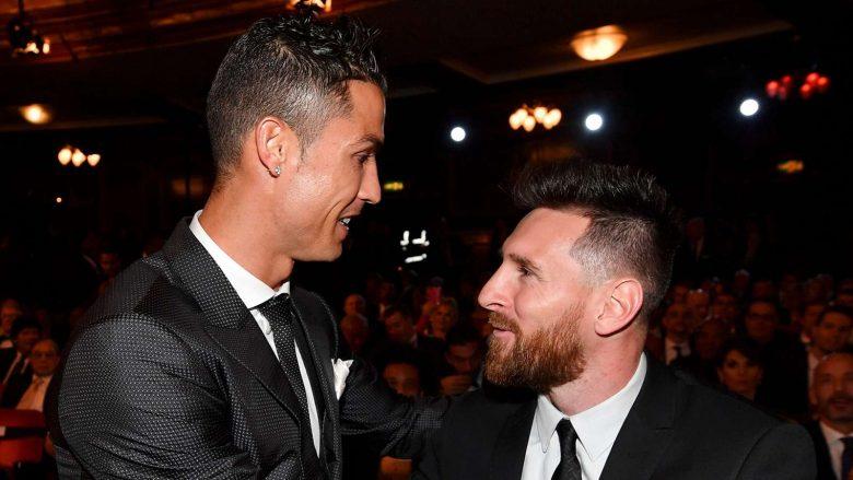 Çmimet e FIFA s  Messi e voton Ronaldon  por portugezi s ia kthen nderin  Kë votoi Ronaldo