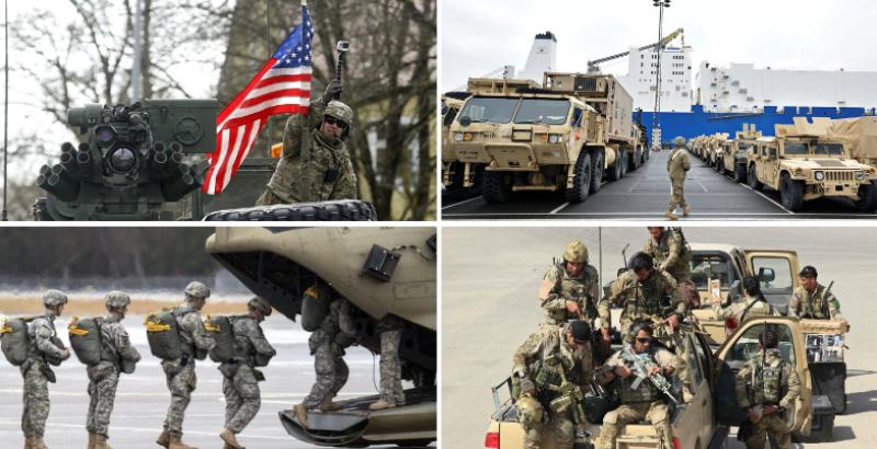 Ushtria amerikane në Gjermani  Shifra dhe fakte rekorde të SHBA së