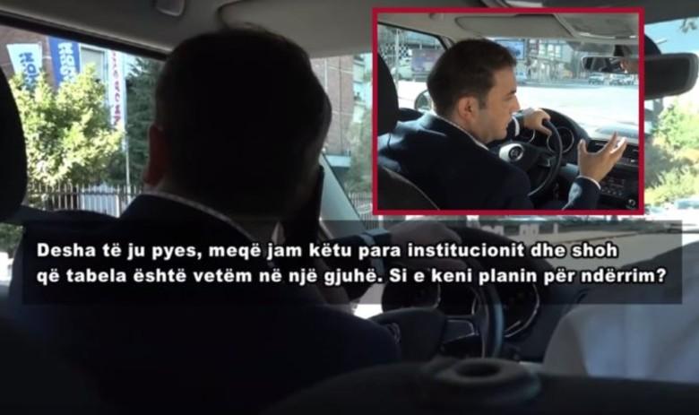 Gjobitet  inspektor  Bujar Osmani