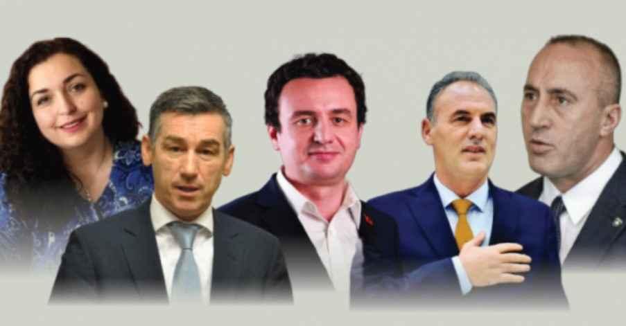 Katër burra dhe një grua  Çfarë niveli shkollimi kanë kandidatët për kryeministër