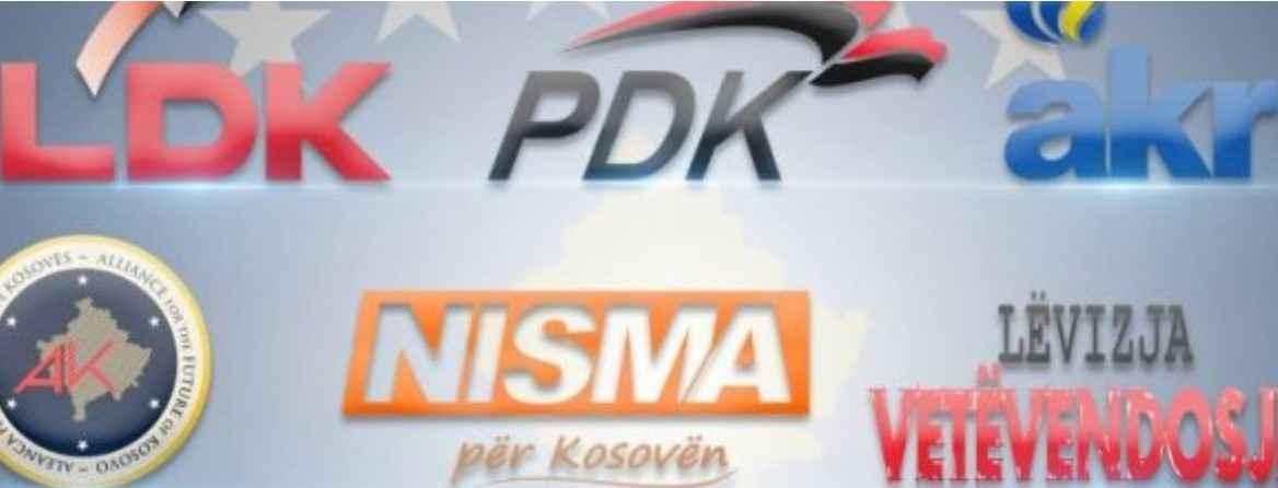 Hidhet shorti për rënditjen e partive politike në fletëvotim  ja numrat e secilës
