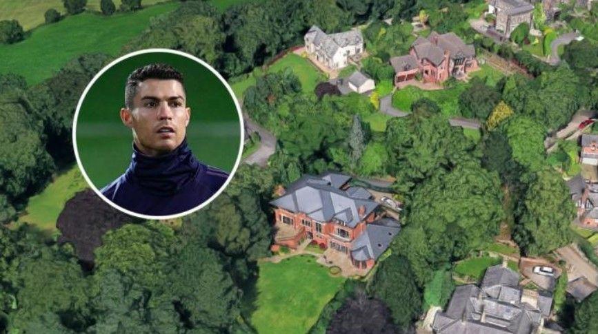 Ronaldo shet vilën në Mançester me  çmim qesharak   nuk i hyn më në punë