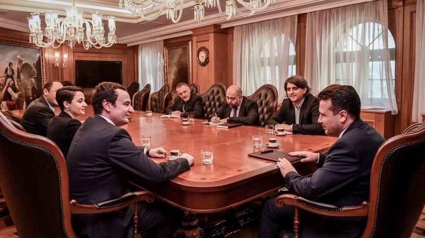 Albin Kurti i ka kërkuar Zaevit hetim ndërkombëtar për rastin e Kumanovës