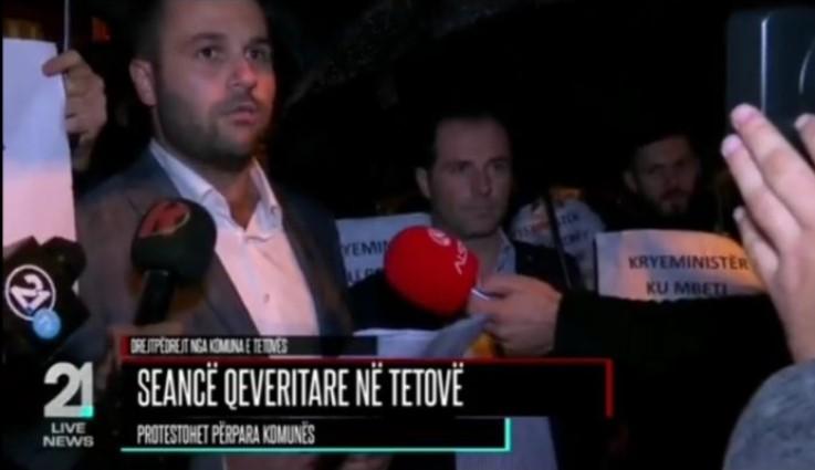 Ja  pritja  që i organizoi Lëvizja BESA kryeministrit Zaev në Tetovë