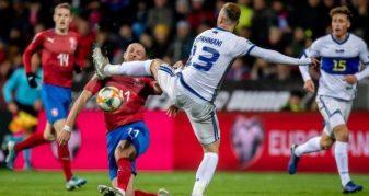 Info Shqip: Me gjithë përpjekjet Kosova mposhtet nga Çekia, humb gjasat për kualifikimet për në Euro 2020