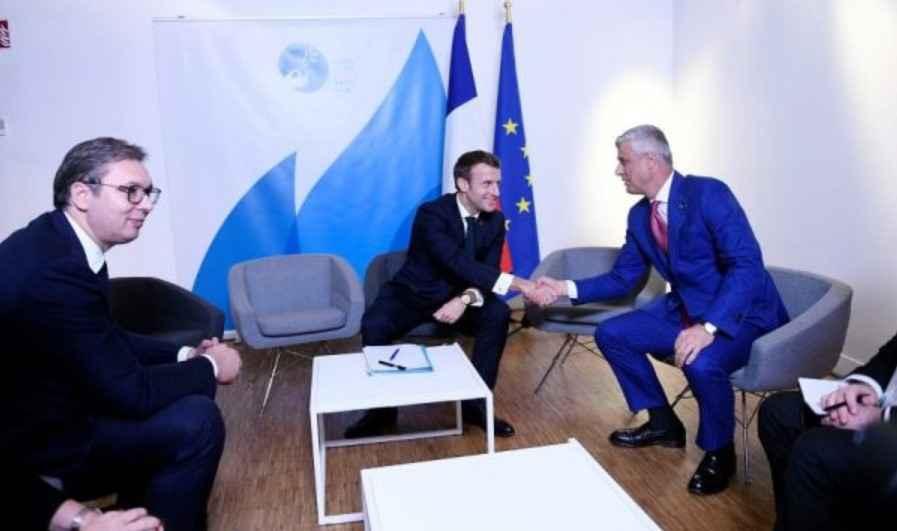 Media serbe  Vuçiq i  tregoi  kur bëhet qeveria e Kosovës  Thaçi u pajtua