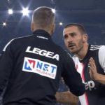 Info Shqip: Zbulohen fjalët e Bonuccit drejtuar gjyqtarit në ndeshjen Lazio-Juventus