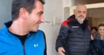 Info Shqip: Edi Rama sërish krition Erion Veliajn në sy të publikut: Ku është rrjeta e koshit? Nesër ma nisni me foto