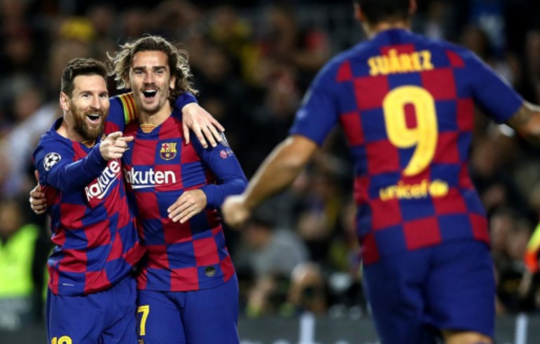 Info Shqip: Barcelona regjistron një rekord të ri në Champions