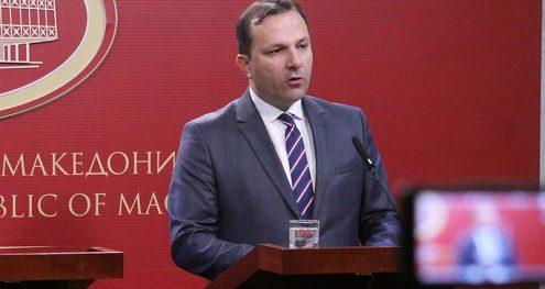 Info Shqip: Nuk diskutohet çështja e kufijve, Spasovski: Mbetet në fuqi vendimi i fundit