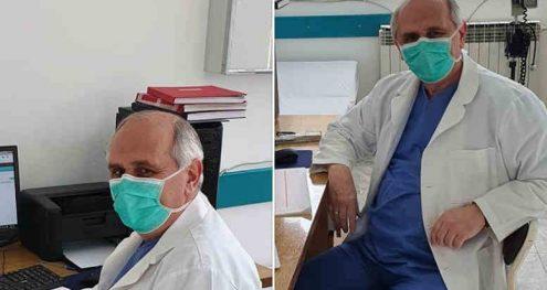 Info Shqip: Kryetari i Dibrës këto ditë të vështira vesh mantelin e bardhë dhe shërben si mjek kujdestar në spitalin e qytetit