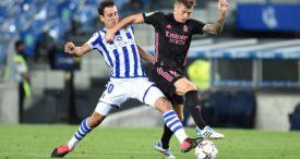 Info Shqip: Notat e lojtarëve: Real Sociedad 0-0 Real Madrid, Elustondo dhe Kroos më të mirët