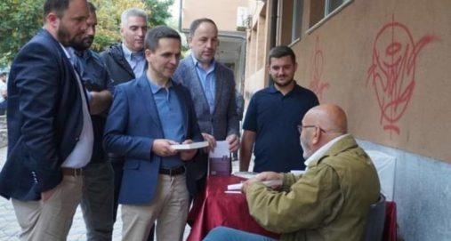 Info Shqip: Bilall Kasami takon artistin Çun Lajçi: Veprat e tij frymëzim për ne