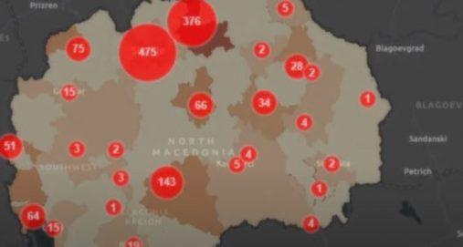 Info Shqip: Sot 1.100 raste të reja me Covid-19 në Maqedoninë e Veriut, 30 viktima