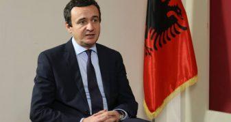 Info Shqip: Kurti: Ata që duan ta ndajnë Kosovën, ndahen nga Kosova